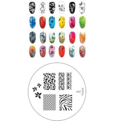 Идеи дизайна с Пластиной konad m57