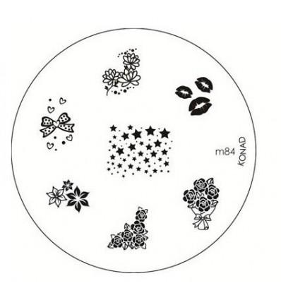Стемпинге с диском konad m84