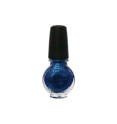 Лак для стемпинга konad blue pearl