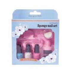 Sponge Set 3(Pastel Blue, Pastel Pink)