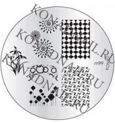 Fancy stamping kit от konad
