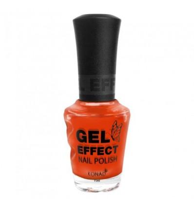 Лак с эффектом геля (Gel Effect Polish - Tangerine Orange)