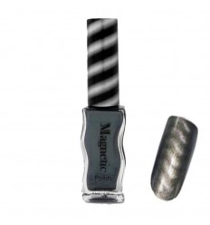 Магнитный лак для ногтей - Magnetic Grey