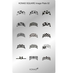 Пластина Square Plate 2