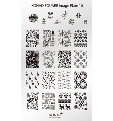 Konad square image plate 01