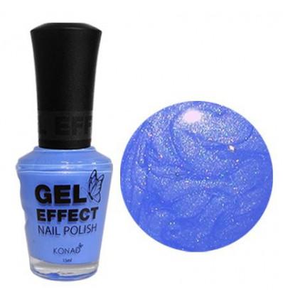 Лак с эффектом геля (Gel Effect Polish - Blue Pearl)