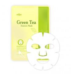 Увлажняющая маска Konad  Green Tea Essence с тонизирующим эффектом