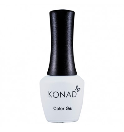 Гель лак KONAD Gel Nail -04 Pure White (белый) 10 мл