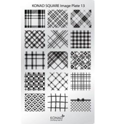 Пластина Square Plate 13