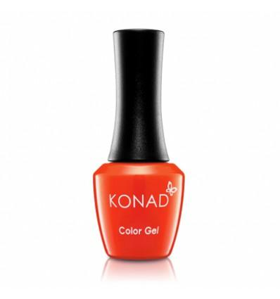 Гель лак KONAD Gel Nail - 12 Red Orange (красно-оранжевый) 10 мл