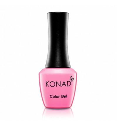 Гель лак KONAD Gel Nail - 15 Pink Lemonade (ярко-розовый) 10 мл
