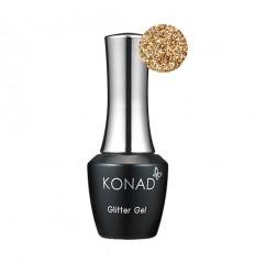 Гель лак KONAD Gel Nail - 39 Glitter Gold (золото) 10 мл