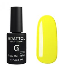 Гель лак Grattol Yellow