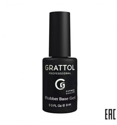 Grattol rubber base gel отзывы