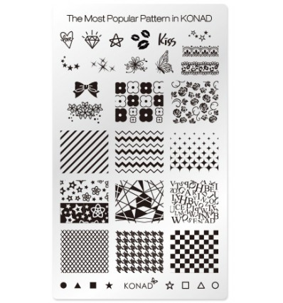Пластина Square Plate Лучшие рисунки