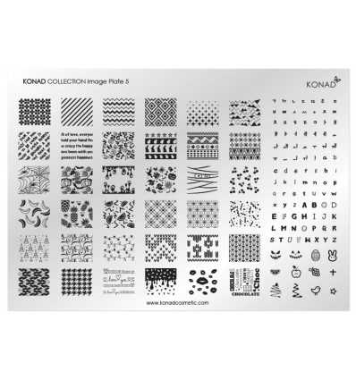 Пластина Konad Collection Image Plate 5